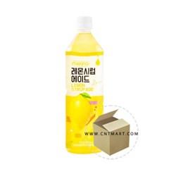 메이킹 레몬 시럽에이드 1L 1박스(6개)/롯데칠성/과일_(636203)