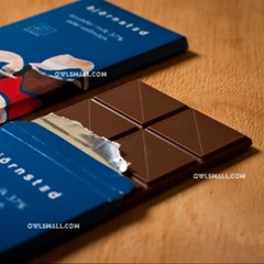 유기농 초콜릿 : 뵨슈테트 에콰도르 밀크 37%