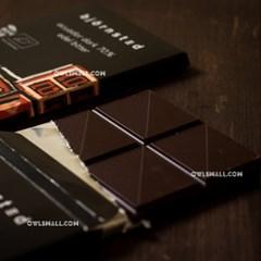 유기농 초콜릿 : 뵨슈테트 에콰도르 다크 70%