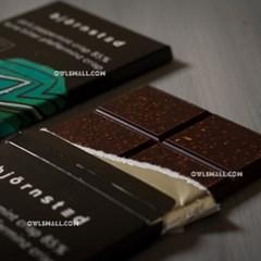 유기농 초콜릿 : 뵨슈테트 페퍼민트 크리스피 다크 85%