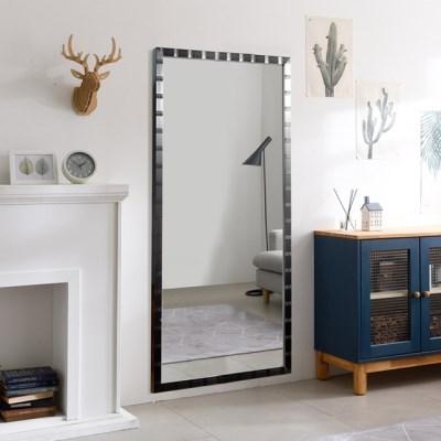 리아 와이드 메탈 전신 벽 거울