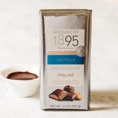 [독일] 바인리히 밀크 초콜릿 : 프랄린(헤이즐넛 누가 필링)