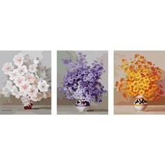 DIY명화그리기세트 - 3단 행복꽃 50x50