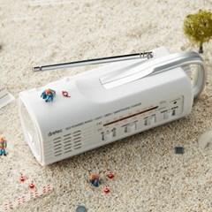 드레텍 자가발전LED라디오 지진대비용품