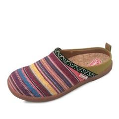 kami et muse Stripe couple slippers_KM18s006