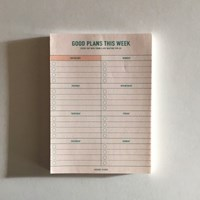 weekly planner_yellow