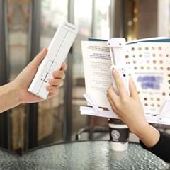 스마트미 휴대용독서대 150g의 심플한 디자인