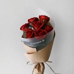비누꽃 장미 7P 네츄럴 꽃다발