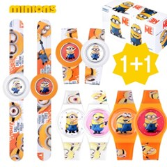 미니언즈 패션 손목시계 1+1 MA001+M1606 택2