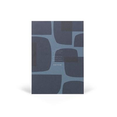 [NOTEM] Notepad - JO Midnight Shapes (노트엠 노트패드)
