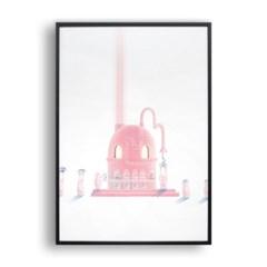 핑크젤리를 만드는 젤리기계