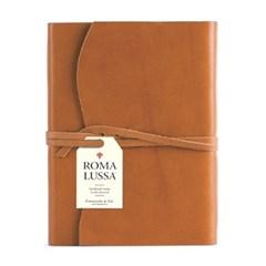 카발리니 저널-레더 로마 탄브라운 (Leather Roma Lussa Journals)