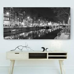 캔버스액자 /CAS553-네덜란드 암스테르담 -와이드 대형 거실액자