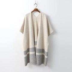 Wool Long Shawl N Cardigan