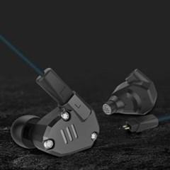 [정품] KZ 분리형 이어폰 ZS6 (마이크O)