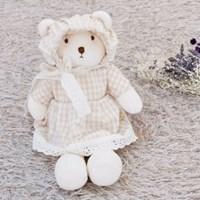 [쏘잉앤맘] DIY 오가닉 드레스 콩이곰 애착인형 만들기