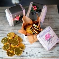 [초콜릿] 골드코인 틴케이스