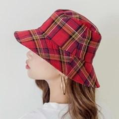 [로코식스] matt check bucket hat/벙거지_(751787)