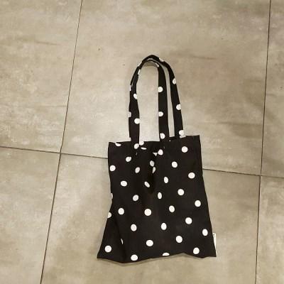 빈티지도트_블랙 book bag