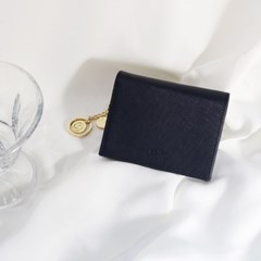 [별자리키링 증정] D.LAB Minette Half Wallet - Navy
