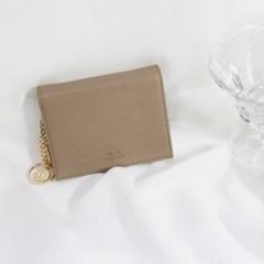 [별자리키링 증정] D.LAB Minette Half Wallet - Beige