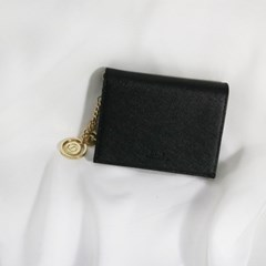 [별자리키링 증정] D.LAB Minette Half Wallet - Black