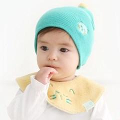 [한스펌킨] [SET] 유아비니+겨울용 넥케이프_애니멀페이스