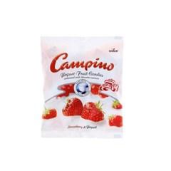 스톡 캄피노 요거트 후르츠 봉봉 딸기맛 75g