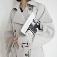 Classic double trench coat