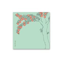 베짓 일러스트 메모지 - 열매