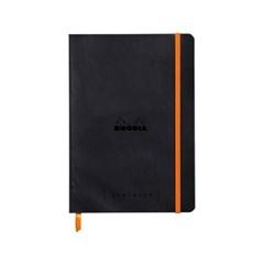 [로디아] 만년다이어리 기능 노트북 Goal Book 골북A5_블랙격자