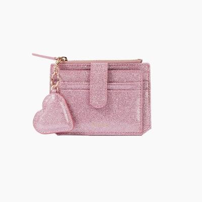 [텐바이텐 단독] 301S Flap mini Card Wallet pink pearl