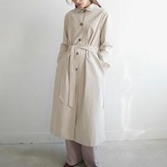 Mono single trench coat