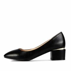 kami et muse Gold line middle heel pumps_KM18s045