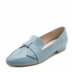 kami et muse Wide ribbon dandy loafers_KM18s043