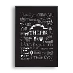 THANK YOU (Black)