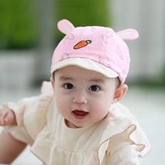당근 토끼귀 유아 캡모자(44-46cm) 500046_(902482487)