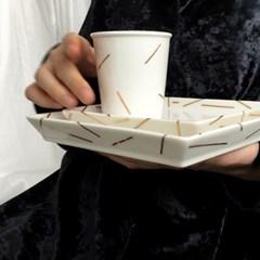 BLACK HOLE _ plate cup . G SET