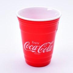 코카콜라 이중컵