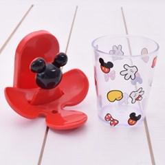 디즈니 미키 입체 칫솔홀더 컵걸이