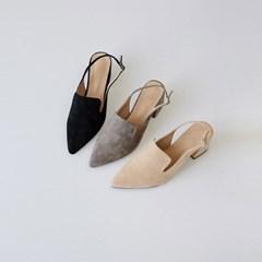 feminine sling back heel