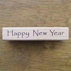Happy New Year스탬프