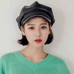 [로코식스] hard leather hunting cap/헌팅캡_(755128)