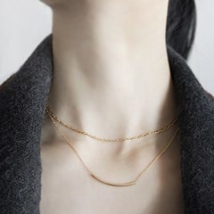14K FLASHY CHAIN CHOKER