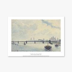 Charing Cross Bridge, London - 카미유 피사로 006