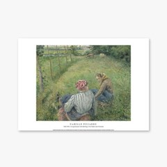 Young Peasant Girls Resting in the Fields - 카미유 피사로 003