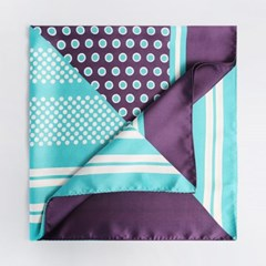 Double Dot Square Scarf