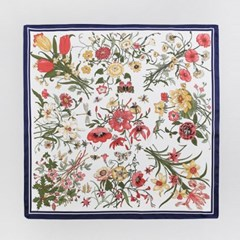 Bouquet Square Petit Scarf