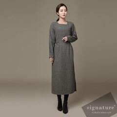Long Check Dress