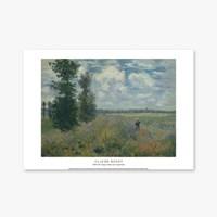 Poppy Fields near Argenteuil - 클로드 모네 025